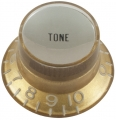 Top hat knob, Tone Gibson style gold