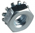 Nut for chassis strap screws