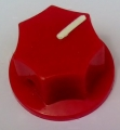 Pointer Knob Classic Small, red
